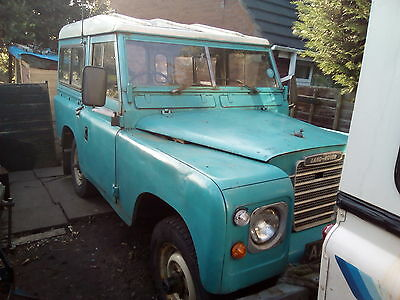 1959 Land Rover Series swb 88 safari tax and mot exempt diesel