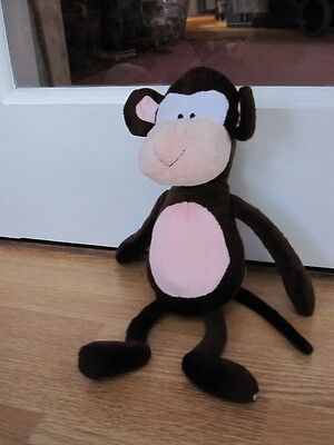 "Cute 12"" Super Soft Plush Dangly Monkey Soft Toy"