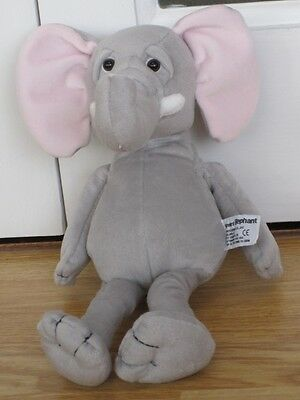Russ Standard Elephant Plush Soft Toy