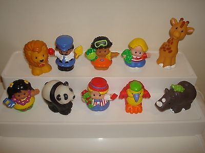 Fisher Price Little People Replacement Figures X 10  (Lot 2 )