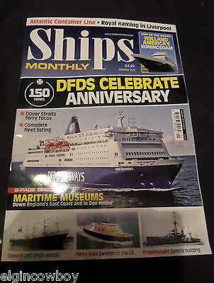 Ships Monthly Dec 2016 New Issue Dfds Holland America Cunard Cargo