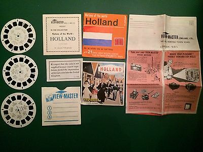 VIEW- MASTER REELS  Holland C400