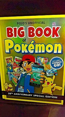Big Book of Pokemon 20th Anniversary Special Edition Incl GO - Hardcover Book