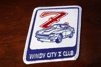 Windy City Z Club Iron on Patch Nissan 280ZX patch NEW