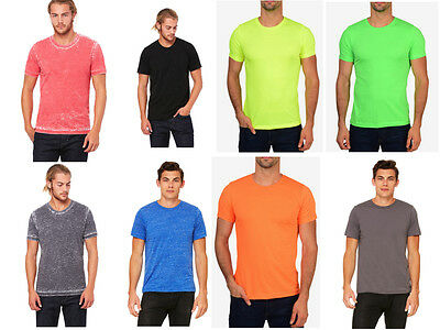 Bella + Canvas Premium Fit Crew T-Shirt Poly Cotton Basic Plain Fitted Tee 3650