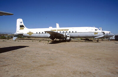 Douglas C-118 131590 yr 2002 E4508 35mm Aircraft Slide