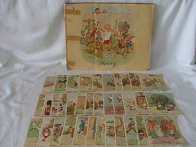 Lot of Vintage Little Henry Cards Complete Album Carl Anderson circa 1930s