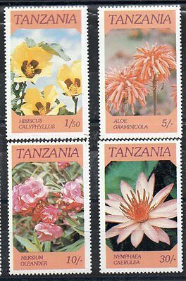 Stamps - Tanzania - 1986 - Flowers -