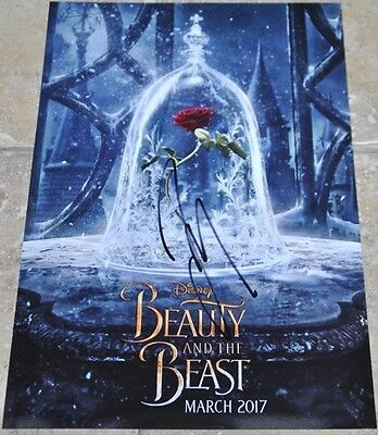 "Beauty And The Beast 12"" x 8"" Colour Photo Signed By Josh Gad Disney"