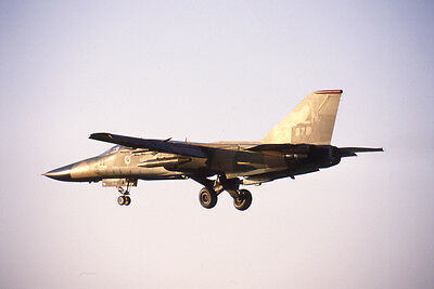 USAF F-111 Aardvark yr 1989 E4449 35mm Aircraft Slide