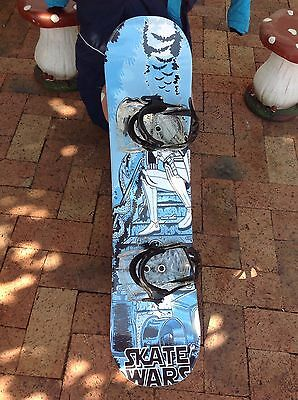 Kids Snowboard 95cm With Nitro Bindings, Size 2 Boots And Snow Suit