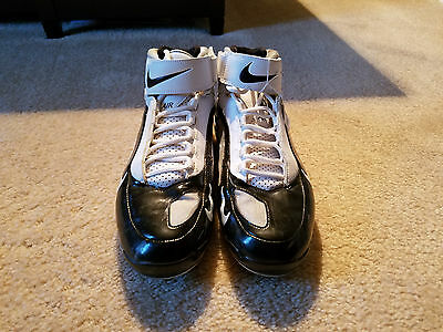 2009 Nnamdi Asomugha Oakland Raiders Game Used/Worn Cleats