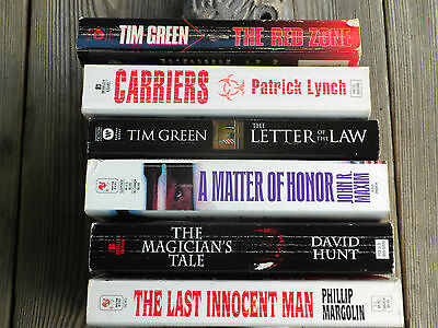 Lot of 6 Used Paperback Books Lot #3