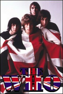 The Who Photo Flag Magnet M-0287
