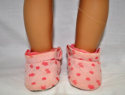 """American Girl Doll Our Generation Journey Gotz 18"""" Dolls Clothes Pink Slippers"""