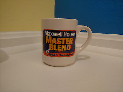 "Maxwell House Master Blend ""Good To the Last Drop"" Coffee Mug"