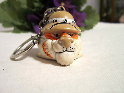 Exxon Tiger - Key Chain/ring - Plastic Head(1997)