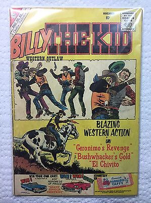 Billy The Kid Western Outlaw Comic Book Nov. 1960