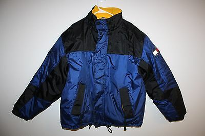 34f0500334d884 VINTAGE TOMMY HILFIGER Expedition DOWN JACKET - Hooded - Men s XL ...