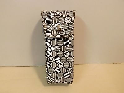 PAUL FRANK Monkey Sunglasses Eyeglasses Case Case BROWN and WHITE