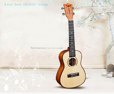 New 24 inches 4 String Beginners Preferred Musical Instrument Ukulele
