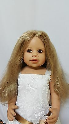 """NWT Monique Marie Blonde Doll Wig 16-17"""" fits Masterpiece Doll(WIG ONLY)"""