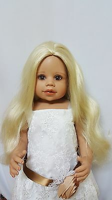 "NWT Monique Marie Pale Blonde Doll Wig 16-17"" fits Masterpiece Doll(WIG ONLY)"