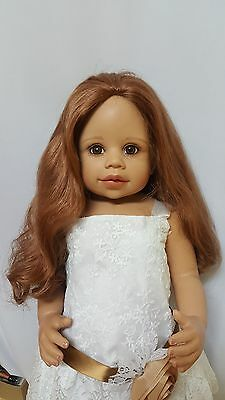 "NWT Monique Marie Auburn Doll Wig 16-17"" fits Masterpiece Doll(WIG ONLY)"