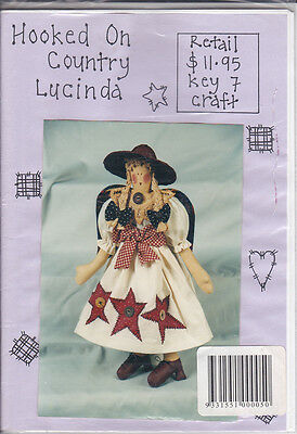 Hooked on Country - Lucinda 52 cm Doll Pattern