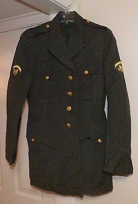 US Army 11th Corps Vietnam Era Uniform Jacket / Coat & Trousers Military Patches