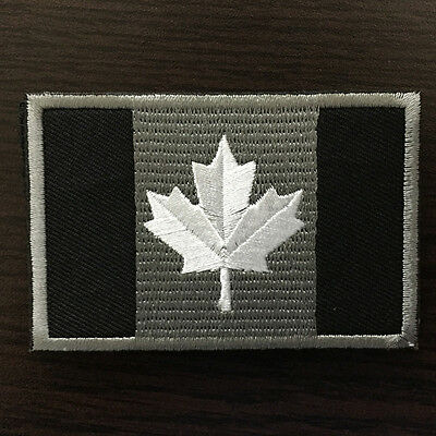 Canadian Flag Tactical Morale Badge Patch Canada Army Subdued OPS Decal Sticker