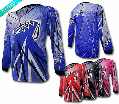 YOUTH MX JERSEY *High Performance*– Motocross/Dirt Bike Gear/DH/BMX/Quad/MotoX