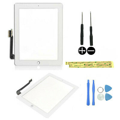 High Quality For Apple iPad 3/4 air White Touch Screen Digitizer Replacement NEW