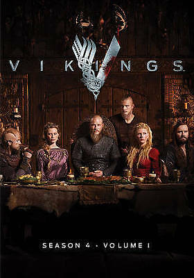 Vikings: Season 4, Part/Volume 1 (DVD, 2016, 3-Disc Set) New