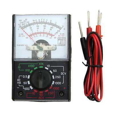 Electric AC/DC OHM Voltmeter Ammeter Multi Tester MF-110A Multimeter New