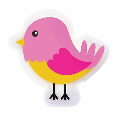 COOL IT PINK BIRD - Kids Cold or Hot Pack Bump Bruises Injury Soother Reusable!!