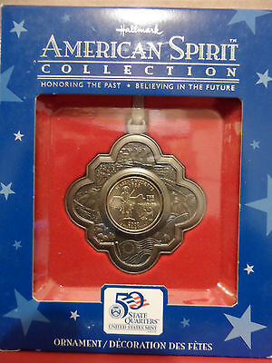 The American Spirit Collection Massachusetts Coin and Ornament Set BRAND NEW