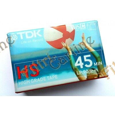 TDK HS 45min VHS C Video Camcorder Nastro/Cassette Uso Frequente