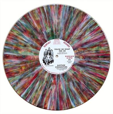 """12"""" Eastside Connection – You're So Right (Disco,Funk original Rainbow Marbled)"""