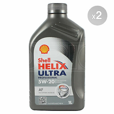 Shell Helix Ultra Professional AF 5W-20 5W20 Fully Synthetic Engine Oil 2 Litres