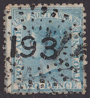 New South Wales : Postmark  Numeral 193 of Ashfield type 2R23 (RRR).