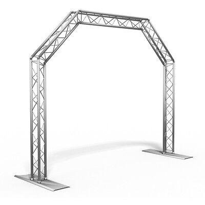 AluStage Arch DJ Truss System Goalpost Kit 3M Wide Gantry Archway Trussing