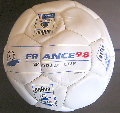 FRANCE 98 WORLD CUP BRAUN OFFICIAL SHAVER Soccer Ball Originale