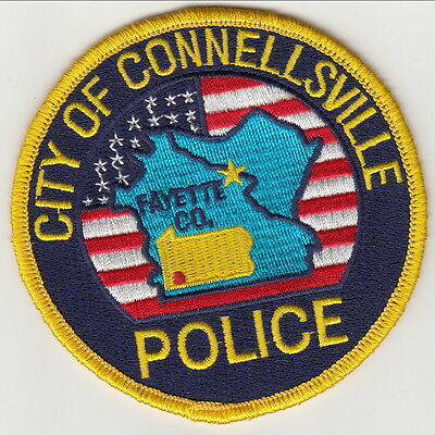 City of Connellsville Police Patch