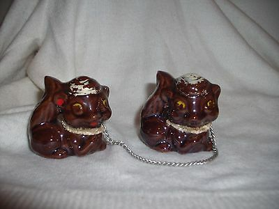 """""""2"""" Ceramic Squirrels Attached With Chains"""