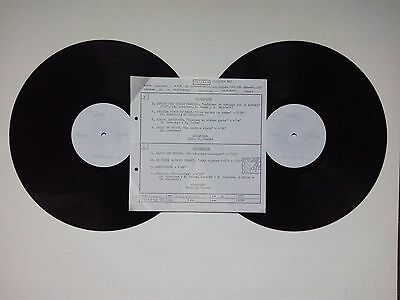 SCORPIONS LOVERDRIVE Amazing Spanish LP Test Pressing. Only 1 copy made