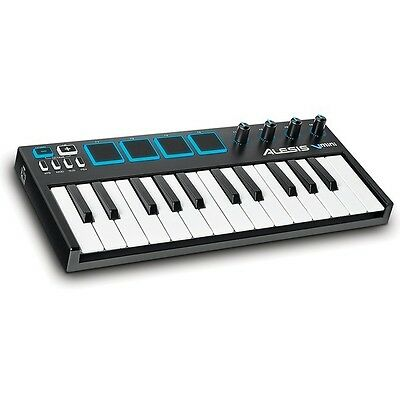 Alesis V-Mini MIDI USB Studio 25-Key Keyboard Controller with Pads