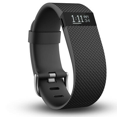 Fitbit Charge HR Noire Taille L