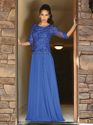 Long Formal Mother of the Bride Plus Size Dress