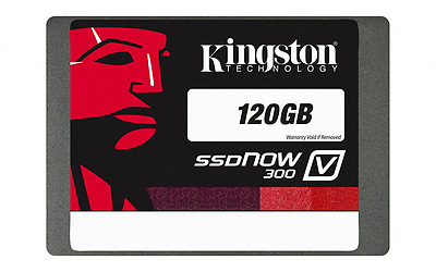 Kingston Technology 120 GB Solid State Drive 2.5 inch V300 SATA 3